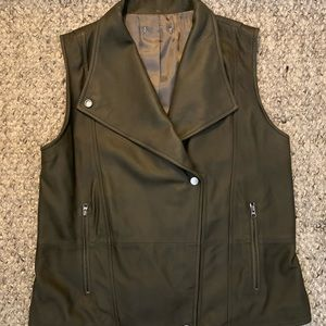 Jackets & Blazers - Leather vest